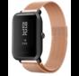 Strap-it® Xiaomi Amazfit Bip Milanese band (rosé goud)