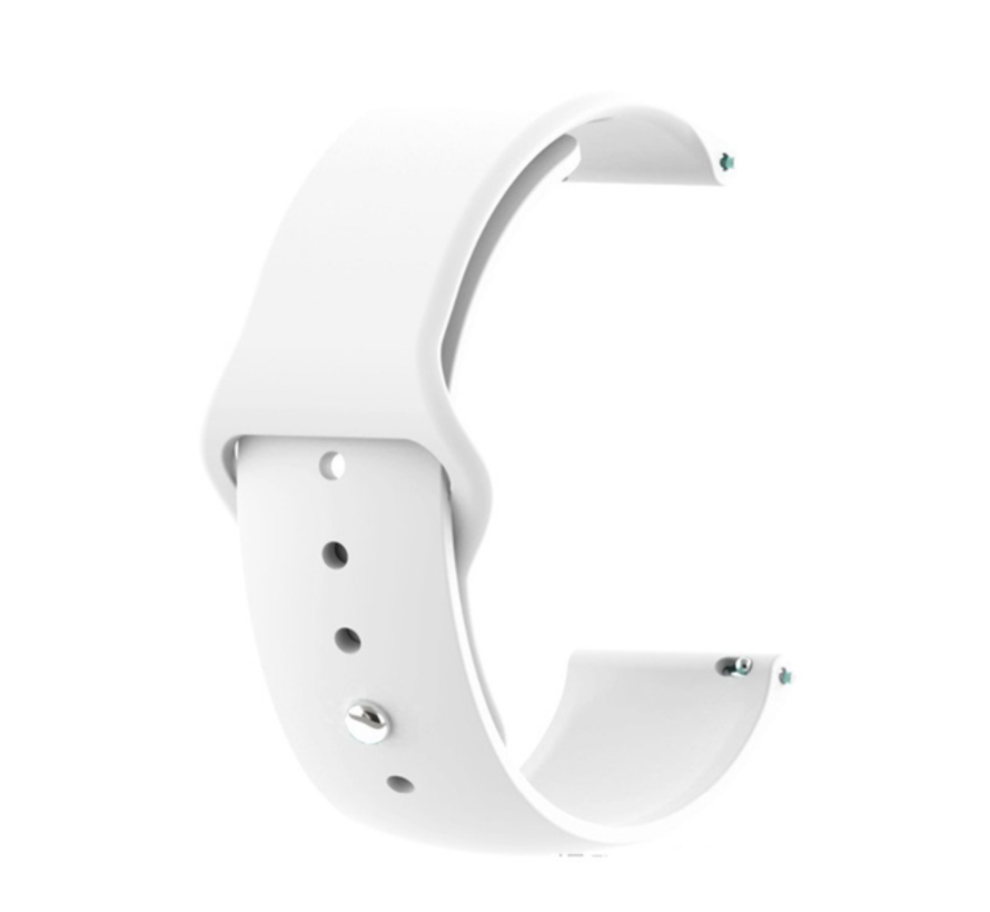 Strap-it® Xiaomi Amazfit GTR sport band (wit)