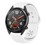 Strap-it® Huawei Watch GT sport band (wit)