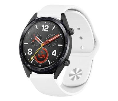 Strap-it® Strap-it® Huawei Watch GT sport band (wit)