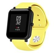 Strap-it® Xiaomi Amazfit Bip sport band (geel)