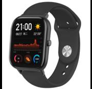 Strap-it® Xiaomi Amazfit GTS sport band (zwart)