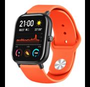 Strap-it® Xiaomi Amazfit GTS sport band (oranje)