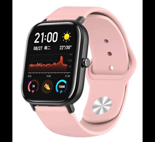 Strap-it® Strap-it® Xiaomi Amazfit GTS sport band (roze)