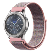 Strap-it® Samsung Gear S3 nylon band (pink sand)