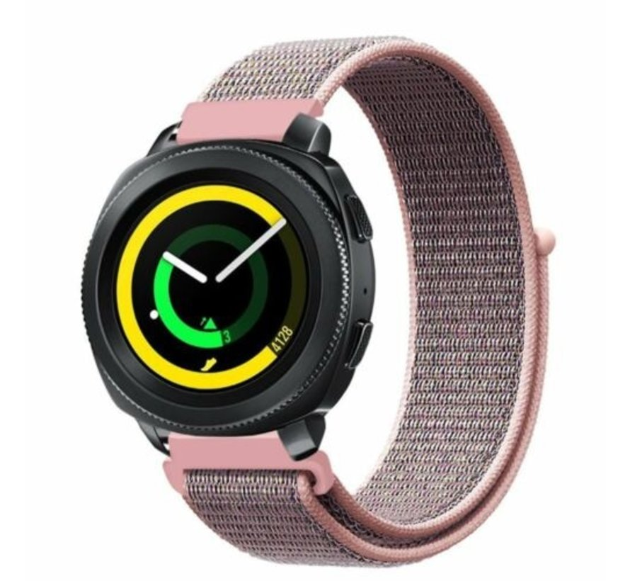 Strap-it® Samsung Gear Sport nylon band (pink sand)