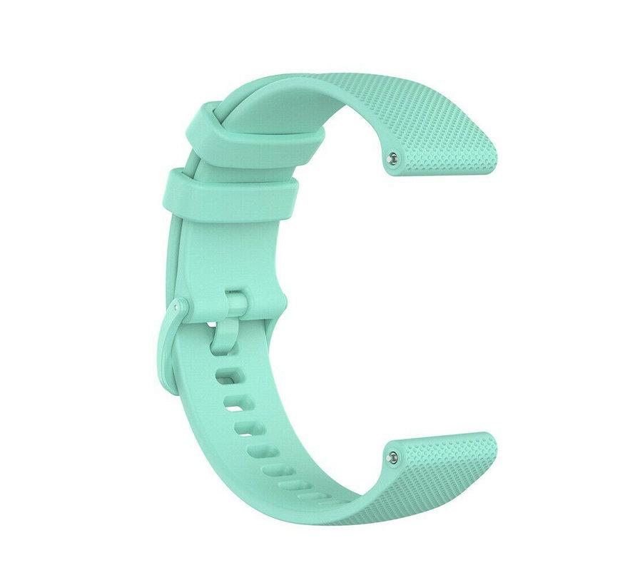 Strap-it® Garmin Vivoactive 4s silicone band - 40mm - aqua