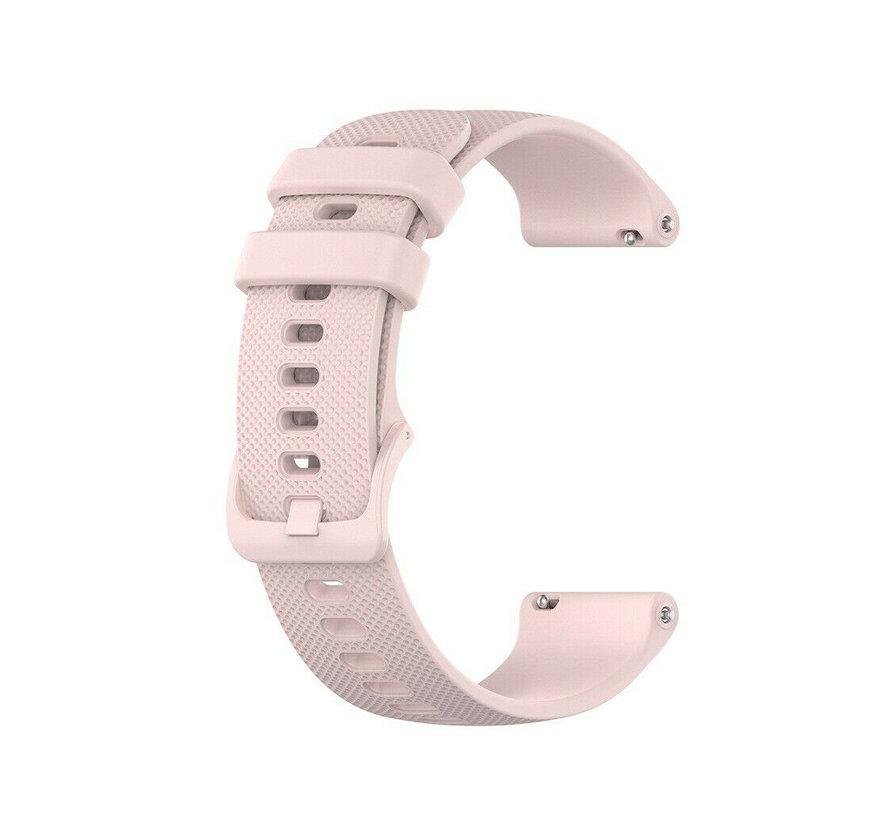 Strap-it® Garmin Vivoactive 4s silicone band - 40mm - roze