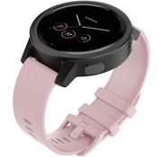 Strap-it® Garmin Vivomove 3s silicone band - 39mm - roze
