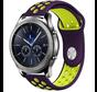 Strap-it® Samsung Gear S3 sport band (paars/geel)