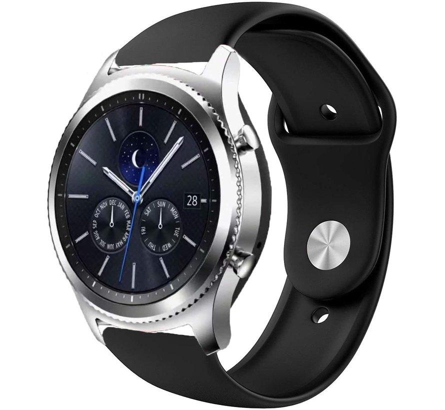 Strap-it® Samsung Gear S3 sport band (zwart)