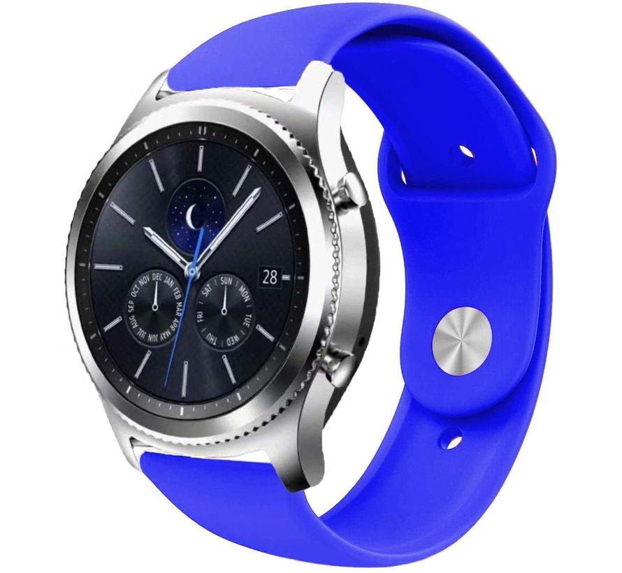 Strap-it® Samsung Gear S3 sport band (blauw)
