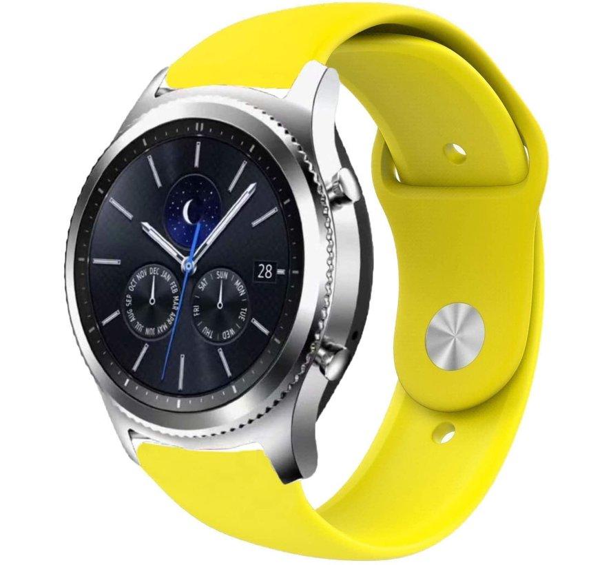Strap-it® Samsung Gear S3 sport band (geel)