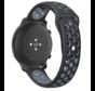 Strap-it® Garmin Vivomove 3s sport band - 39mm - zwart/grijs
