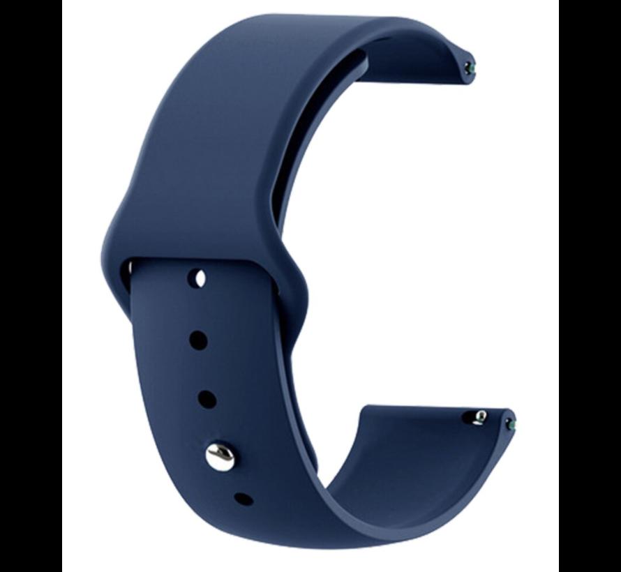 Strap-it® Samsung Galaxy Watch Active sport band (donkerblauw)