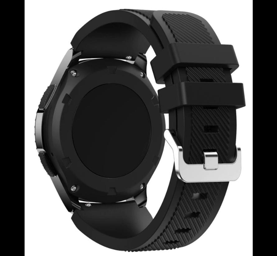 Strap-it® Garmin Venu siliconen bandje (zwart)
