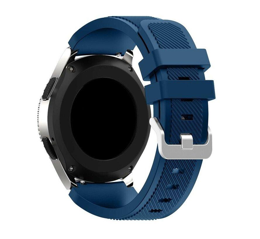 Strap-it® Garmin Venu siliconen bandje (donkerblauw)