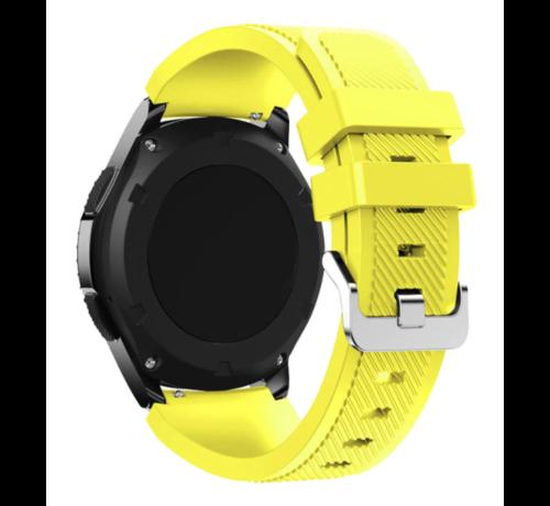 Strap-it® Strap-it® Garmin Venu siliconen bandje (geel)