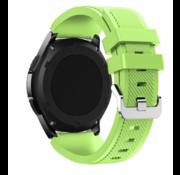 Strap-it® Garmin Venu siliconen bandje (lichtgroen)