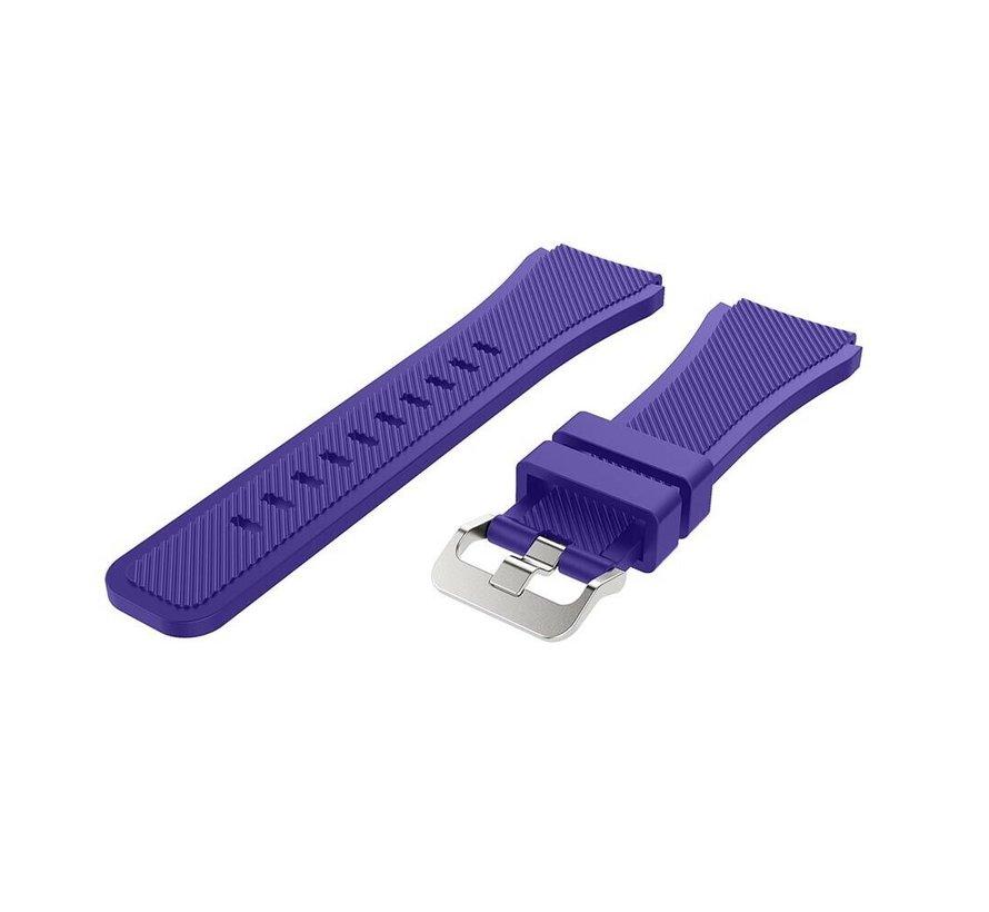 Strap-it® Garmin Venu siliconen bandje (paars)