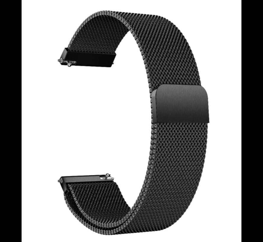 Strap-it® Garmin Venu Milanese band (zwart)
