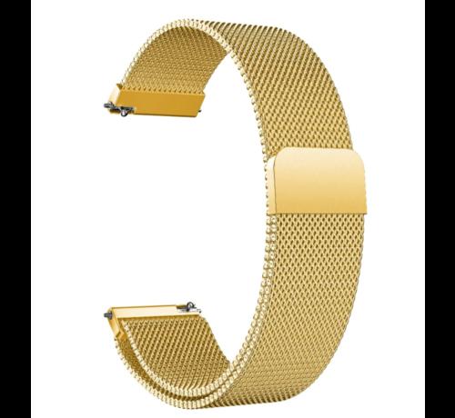 Strap-it® Strap-it® Garmin Venu Milanese band (goud)