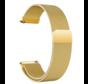 Strap-it® Garmin Venu Milanese band (goud)