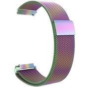 Strap-it® Garmin Venu Milanese band (regenboog)