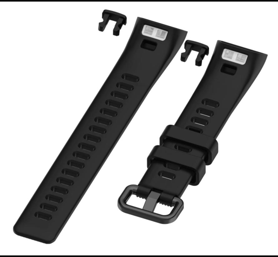 Strap-it® Huawei band 3 / 4 Pro silicone band (zwart)