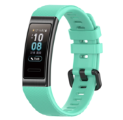 Strap-it® Huawei band 3 / 4 Pro silicone band (aqua)