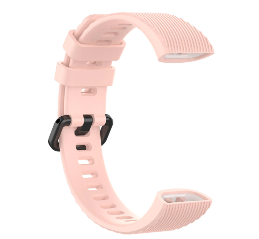 Huawei band 3 / 4 silicone band (roze)