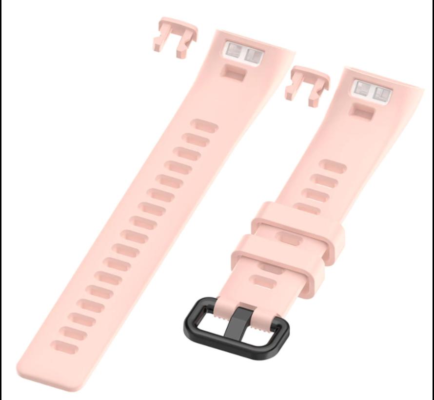 Strap-it® Huawei band 3 / 4 silicone band (roze)
