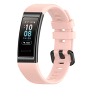 Strap-it® Huawei band 3 / 4 Pro silicone band (roze)
