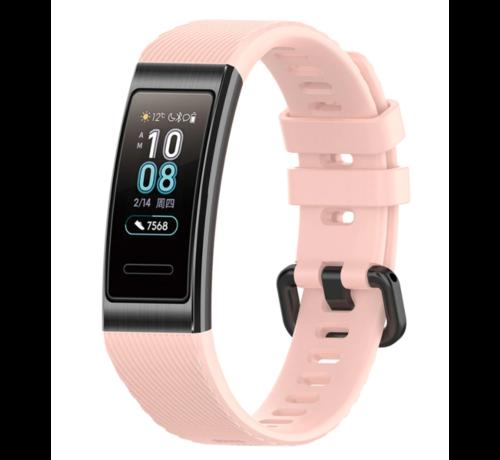 Strap-it® Strap-it® Huawei band 3 / 4 silicone band (roze)