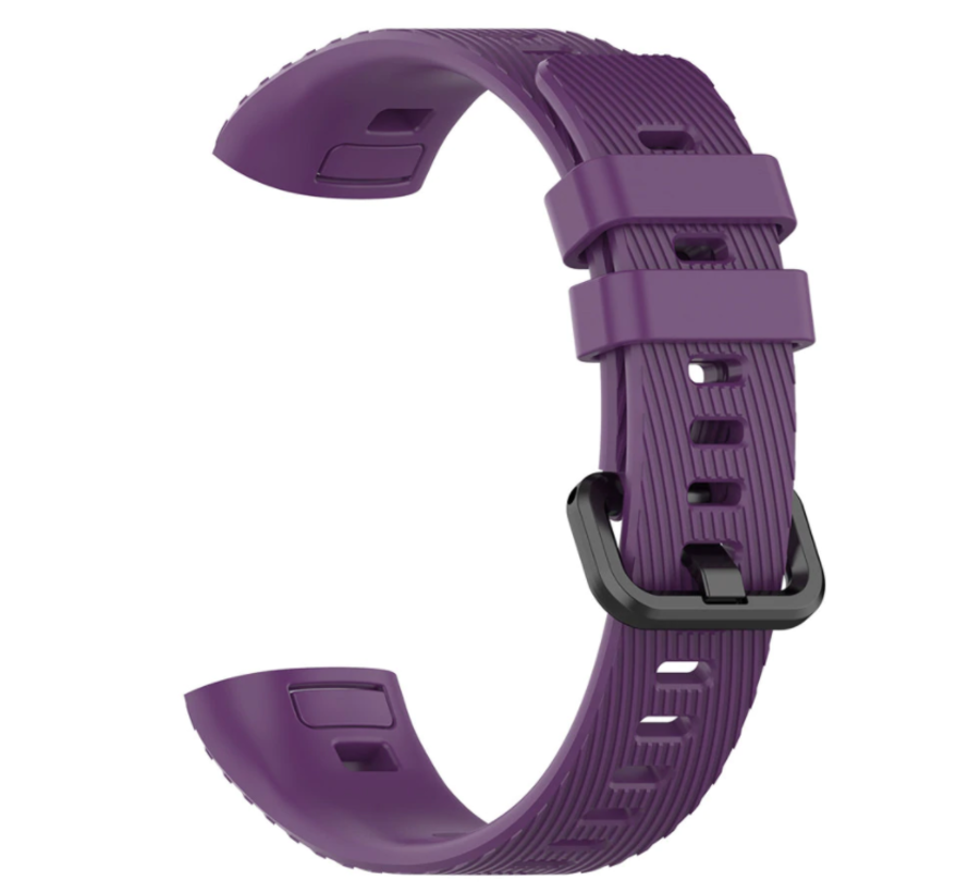 Strap-it® Huawei band 3 / 4 Pro silicone band (paars)