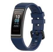 Strap-it® Huawei band 3 / 4 Pro silicone band (donkerblauw)