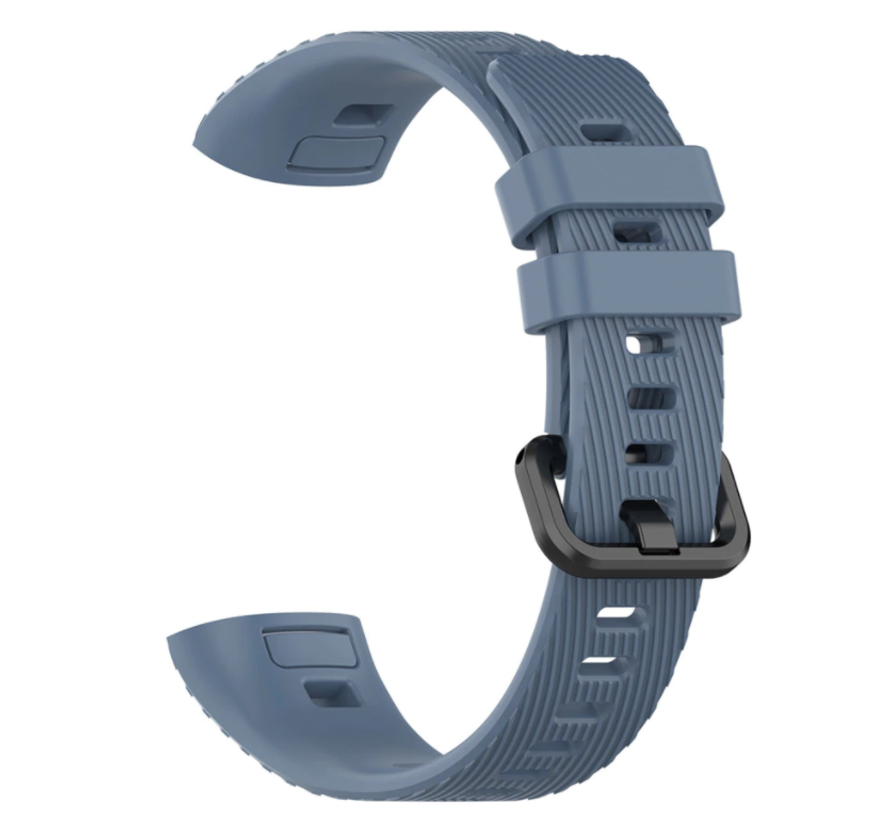 Strap-it® Huawei band 3 / 4 Pro silicone band (grijsblauw)