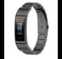 Strap-it® Huawei band 3 / 4 Pro stalen band (zwart)