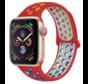 Strap-it® Apple Watch sport+ band (kleurrijk rood)