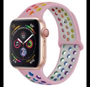 Apple Watch sport+ band (kleurrijk roze)