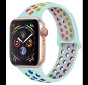 Apple Watch sport+ band (kleurrijk lichtblauw)