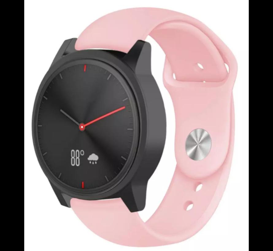 Strap-it® Garmin Vivomove HR sport band (roze)