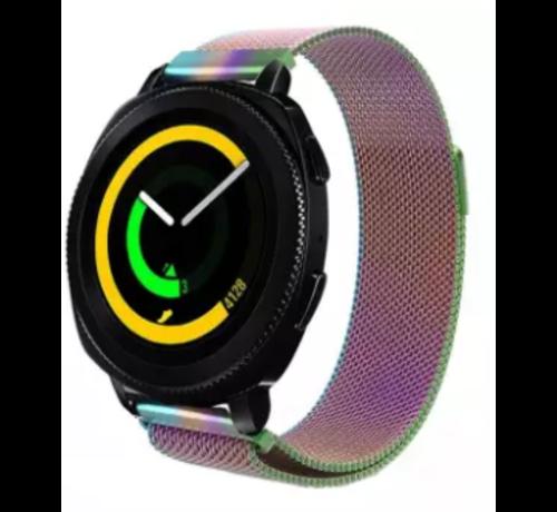 Strap-it® Strap-it® Samsung Gear Sport Milanese band (regenboog)
