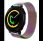 Strap-it® Samsung Gear Sport Milanese band (regenboog)