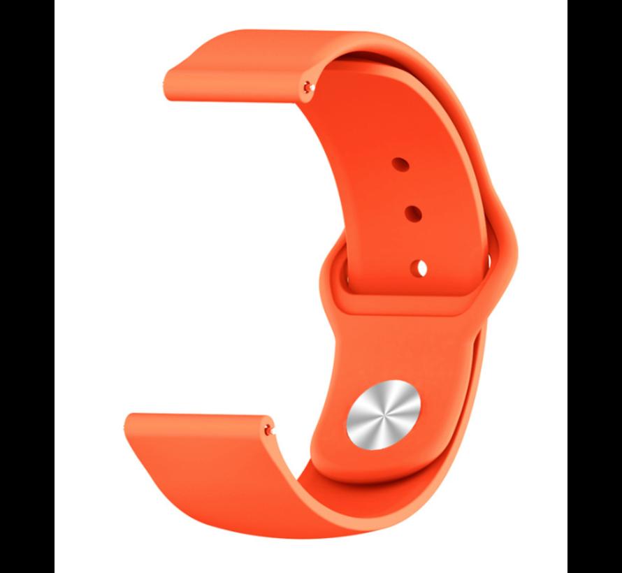 Strap-it® Xiaomi Amazfit GTR sport band (oranje)