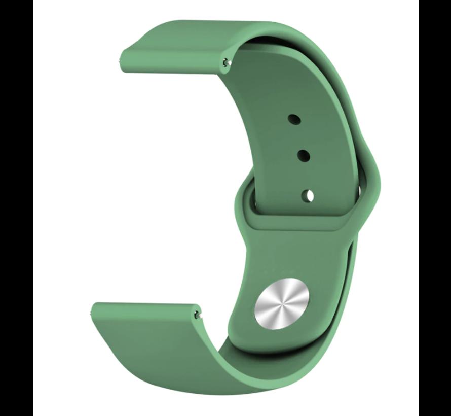 Strap-it® Xiaomi Amazfit GTR sport band (legergroen)