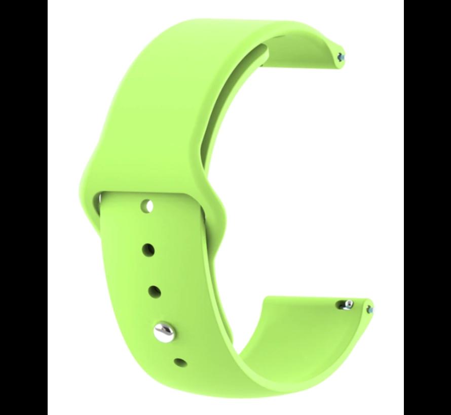 Strap-it® Xiaomi Amazfit GTR sport band (lichtgroen)