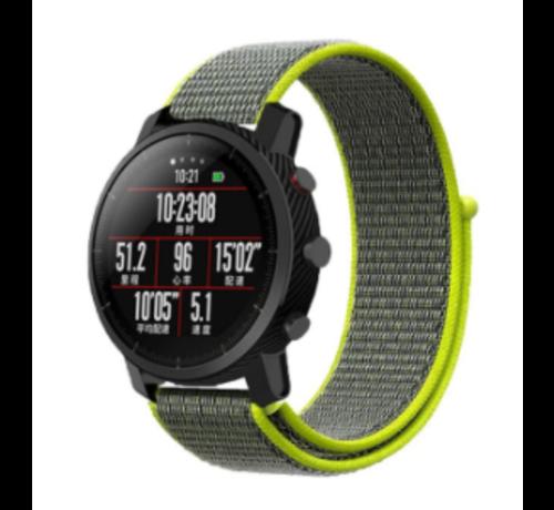 Strap-it® Strap-it® Xiaomi Amazfit Pace nylon band (fluoriserend)