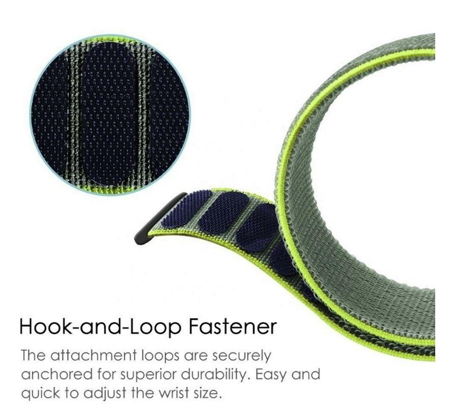 Strap-it® Xiaomi Amazfit Pace nylon band (fluoriserend)