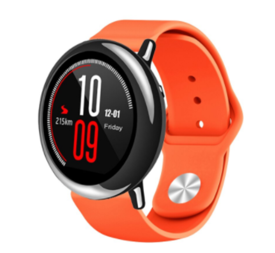 Strap-it® Xiaomi Amazfit Pace sport band (oranje)
